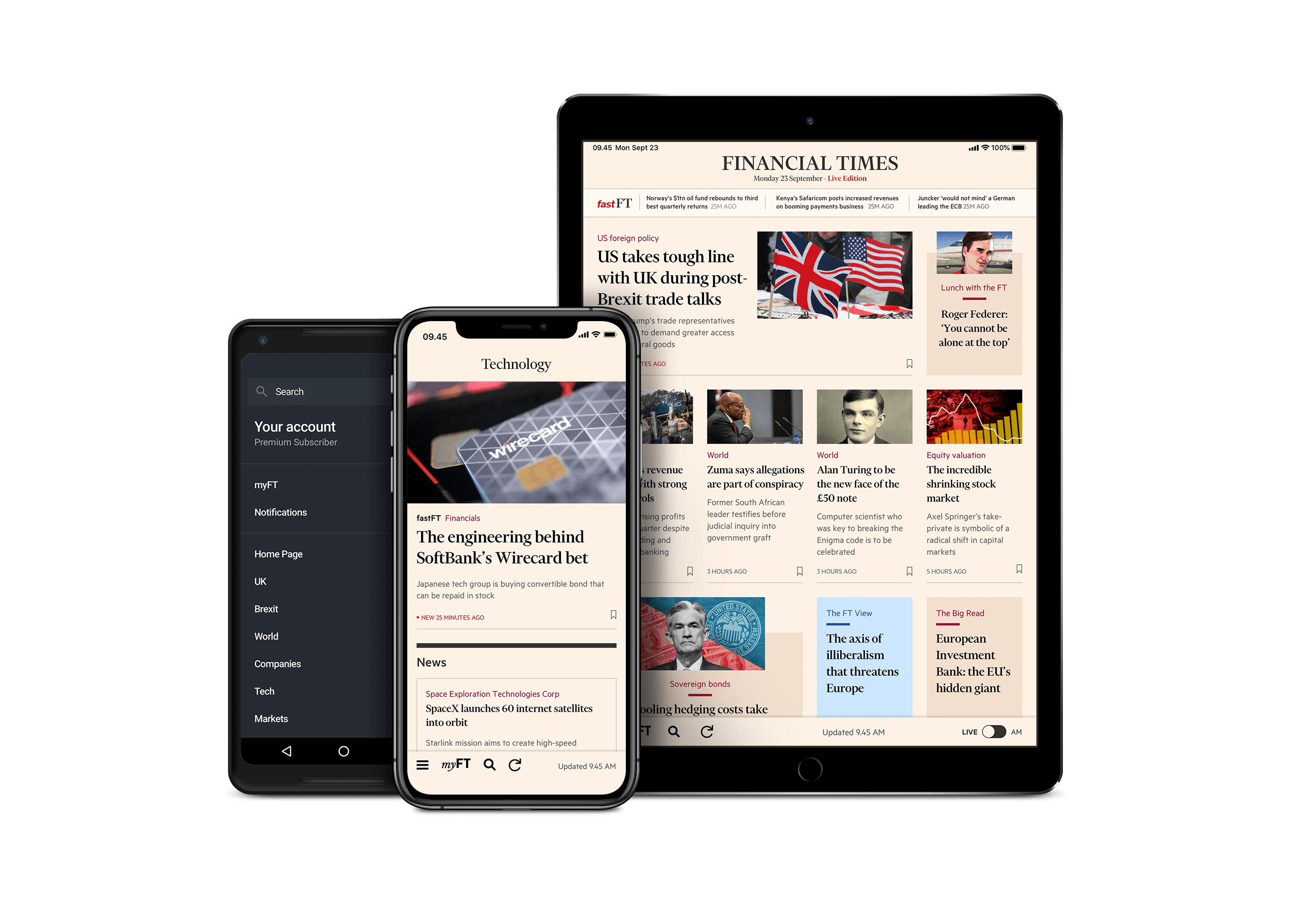 Our Apps for Android and iOS — FT com | Financial Times
