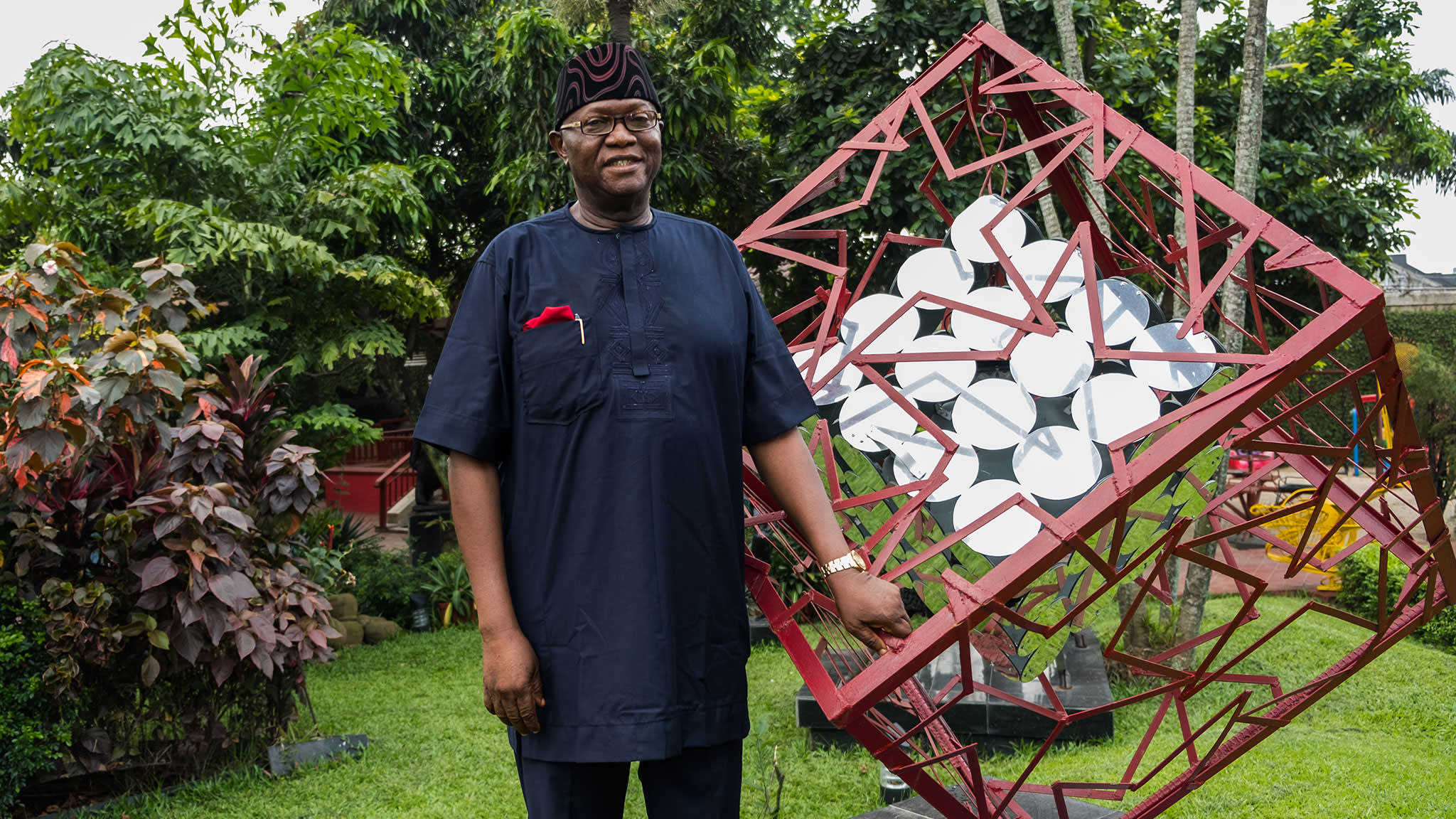 Phantasmagoria: Prince Yemisi Shyllon in his sculpture garden