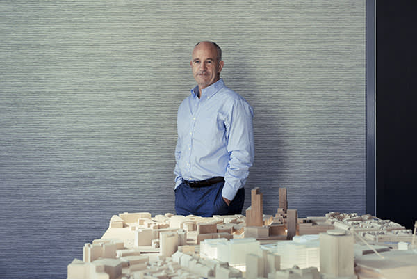 Paul McCarthey of Rightacres pictured at the office, One Central Square , Cardiff