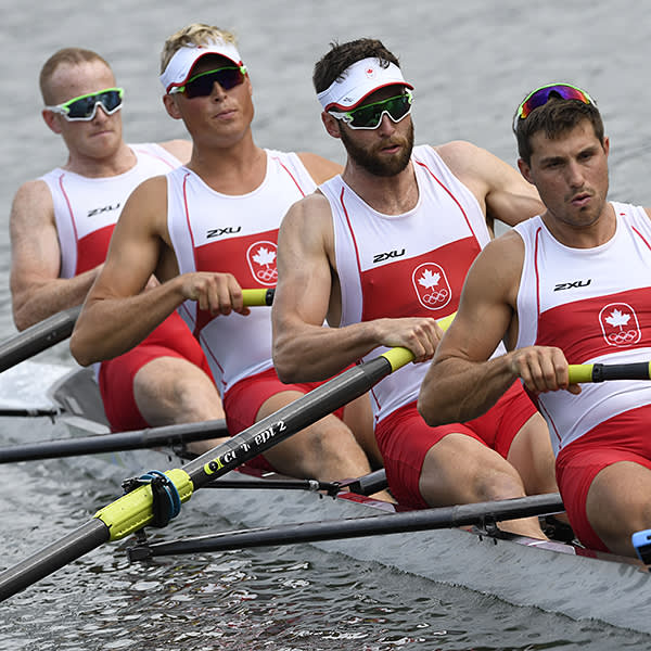 Conlin McCabe, Canada, rowing Olympic silver, men's eights, London 2012