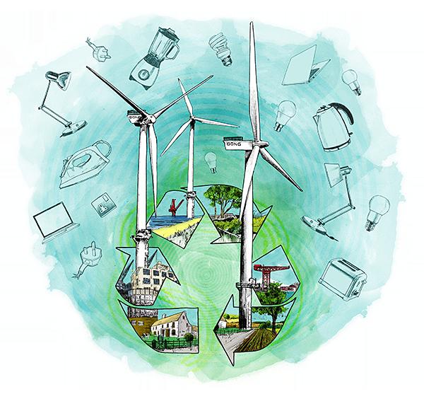 Dong Energy illustration