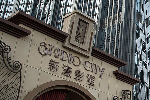 Studio City casino in Macau
