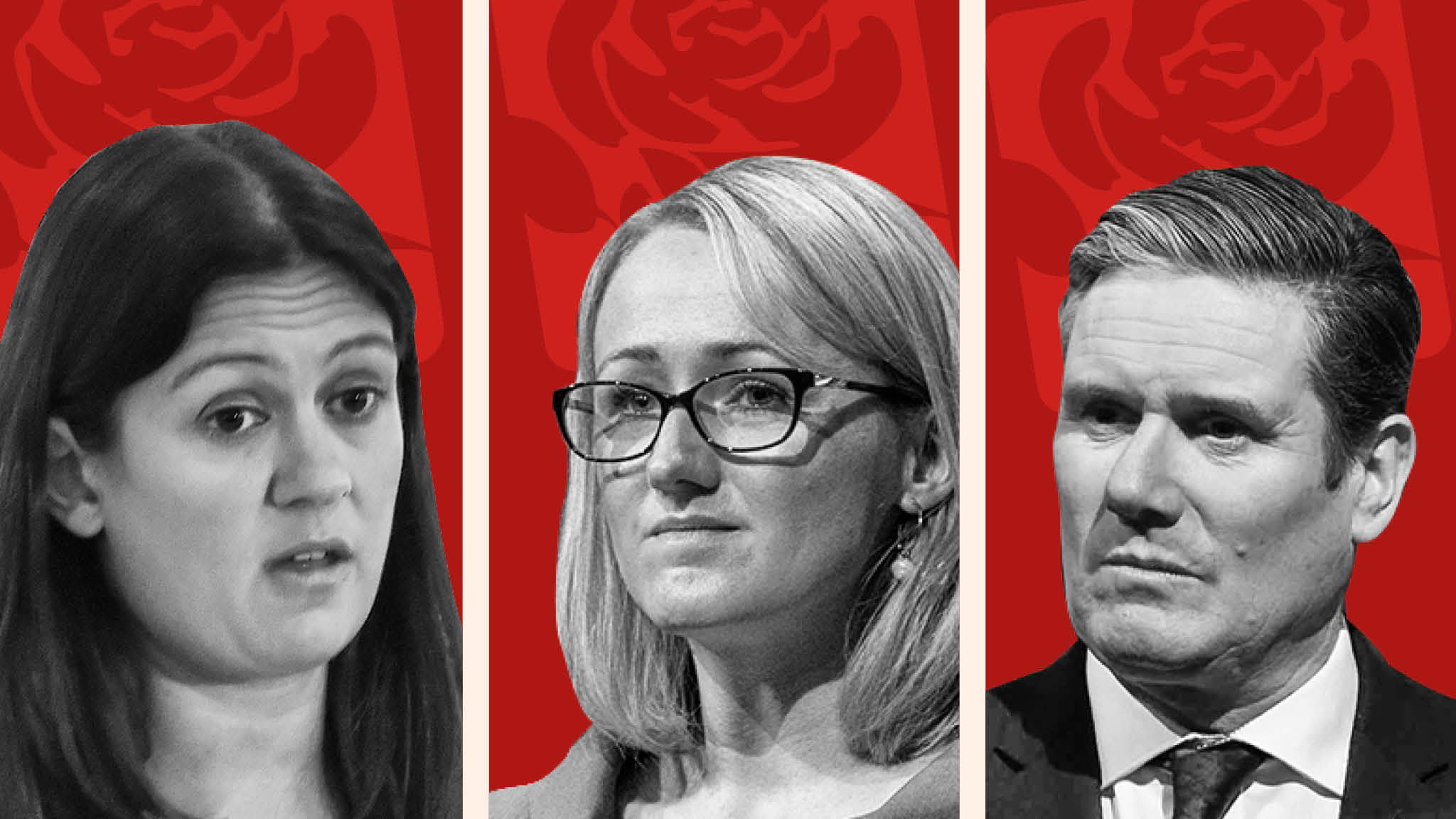 Lisa Nandy, Rebecca Long Bailey and Keir Starmer made it through to the final round of the Labour leadership contest