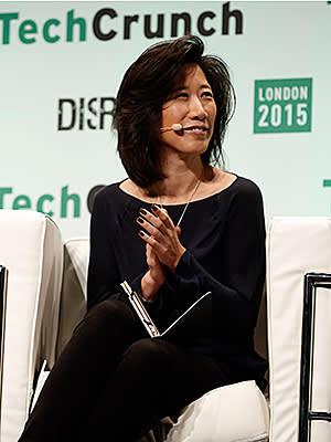 Eileen Burbidge during TechCrunch Disrupt London 2015