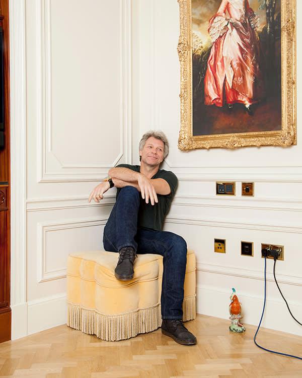 Jon Bon Jovi at The Savoy