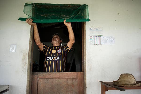 José Soares Ribeiro, who has the chronic form of Chagas
