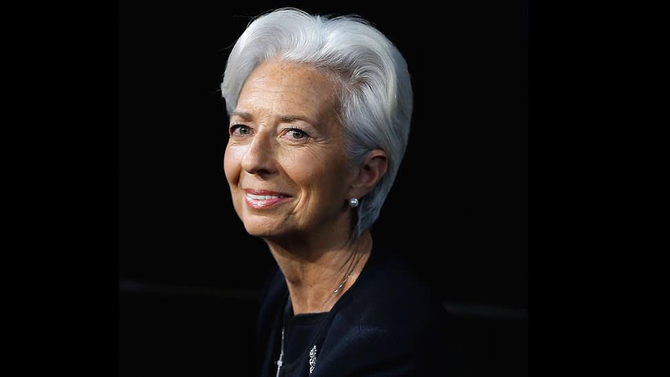 Christine Lagarde, managing director, IMF