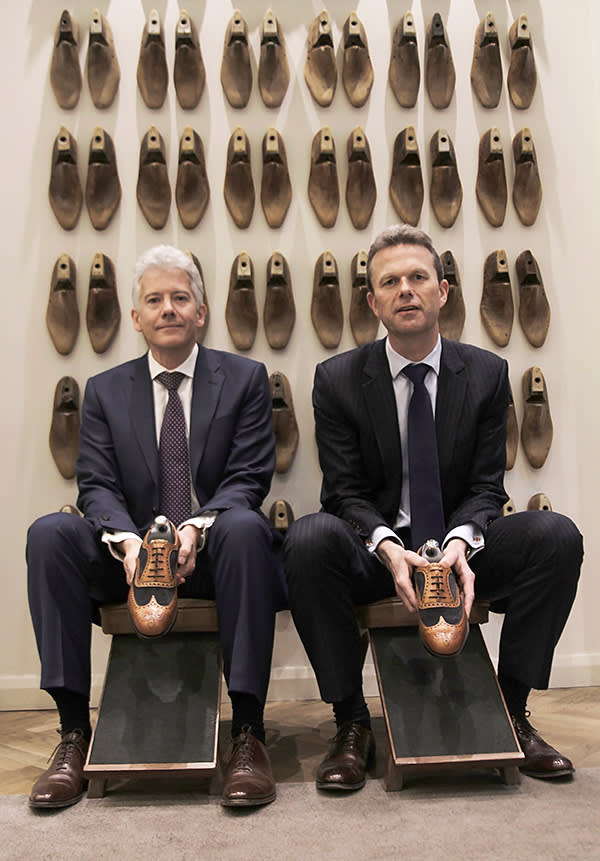 Sole traders: Jonathan and William Church of Joseph Cheaney & Sons