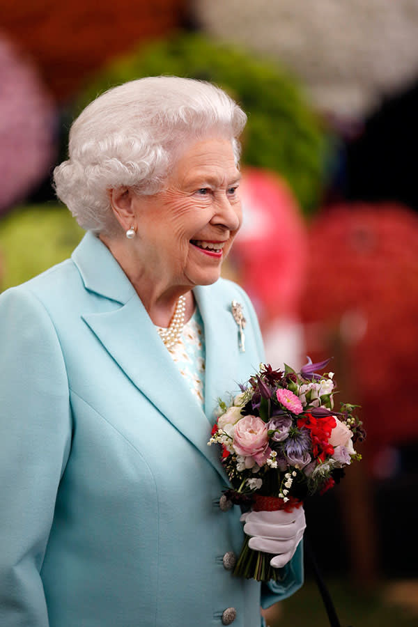 The Queen at last year's show