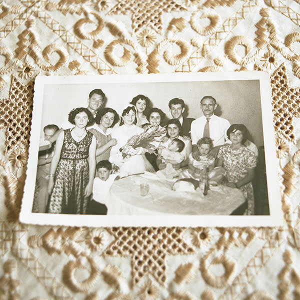 A family photo of the Maluls, with their nine-month-old daughter Ilana, who they allege was stolen