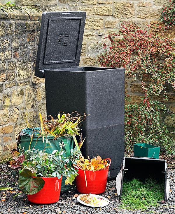 Hotbin compost bins