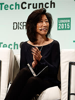 Eileen Burbidge during TechCrunch Disrupt London 2015