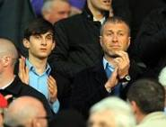 Abramovich jr. with his dad