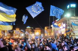 Ukraine students: 'Youth of the nation…for Euro integration' | Financial Times