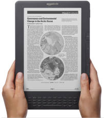 Colour Closer With E Ink Pearl On Kindle Dx Financial Times