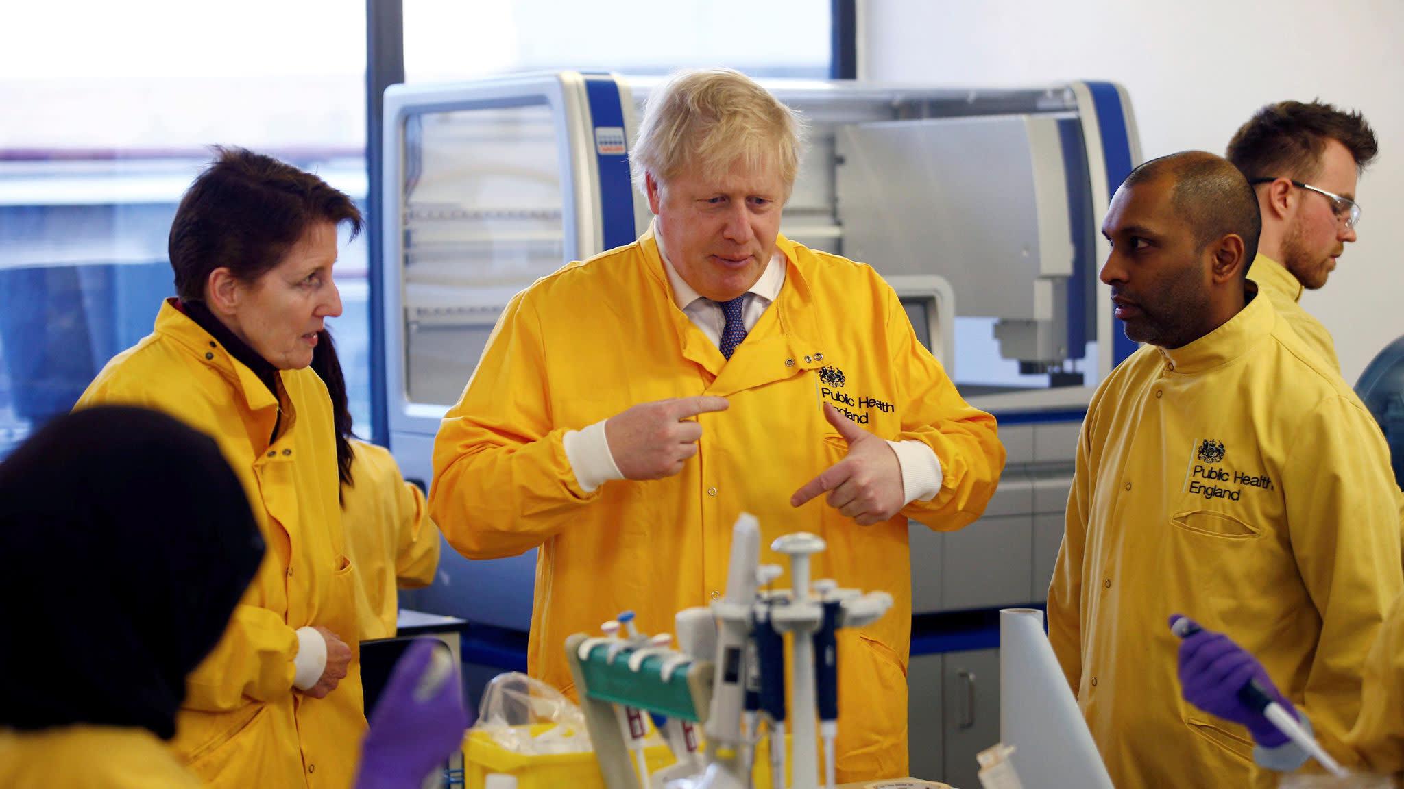 Coronavirus latest: UK to help other countries spot new virus variants