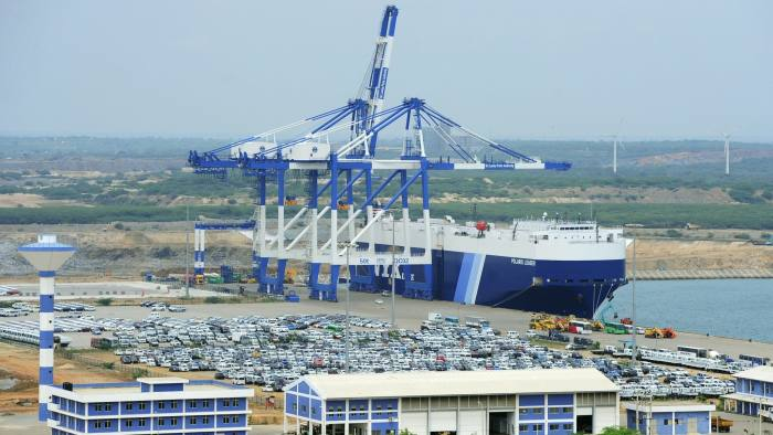 China signs 99-year lease on Sri Lanka's Hambantota port