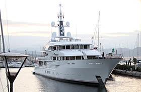 Jim Ratcliffe's superyacht Hampshire 2