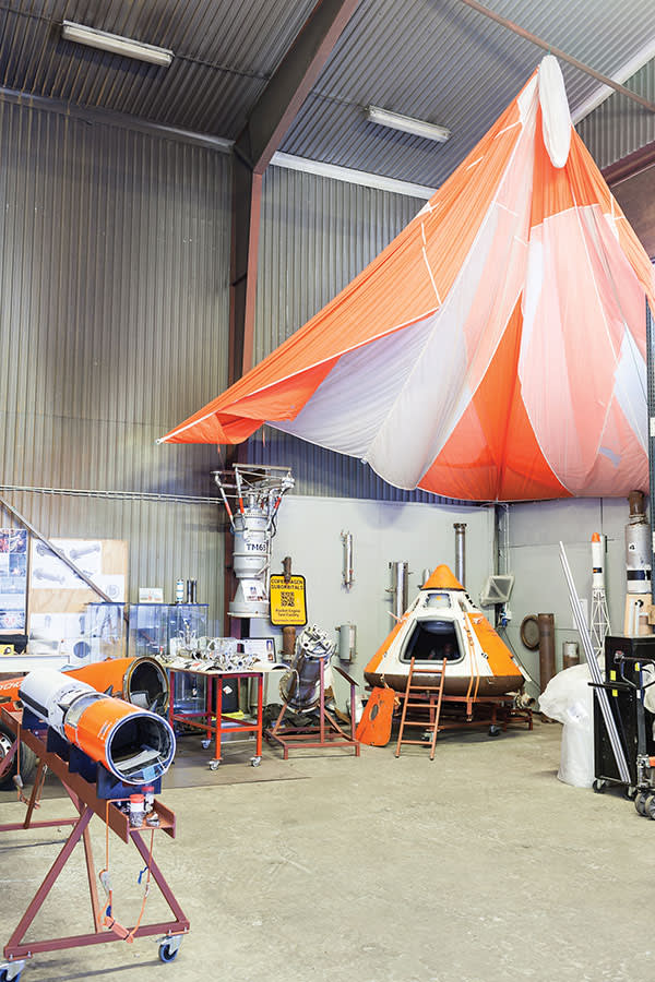 The workshop at Copenhagen Suborbitals