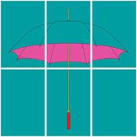 Michael Craig-Martin's 'Umbrella' (2016), Edition sector
