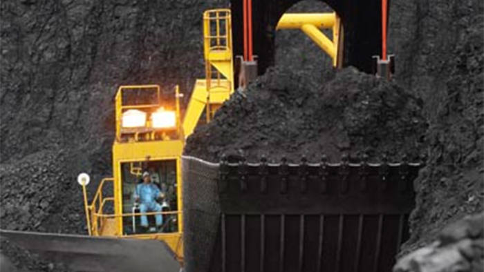Coal is mined at Peabody Energy Corp.'s Rawhide Mine in the Powder River Basin, Wyoming, U.S., in this undated handout photograph provided to the media on Wednesday, March 17, 2010