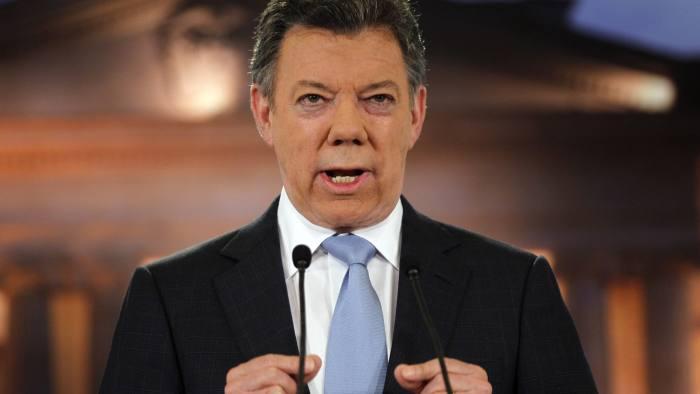Juan Manuel Santos, Colombia's president