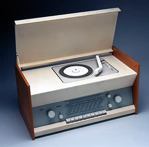 Braun Atelier 11 stereo radiogram, by Dieter Rams, 1961