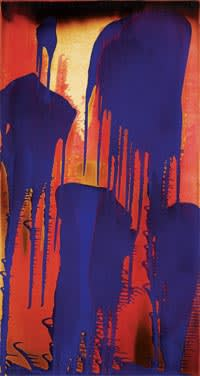 Yves Klein's 'Untitled Fire-Colour Painting (FC3)' (1962)