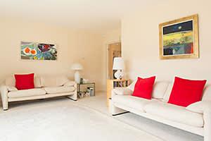 Stephanie Shirley's living room