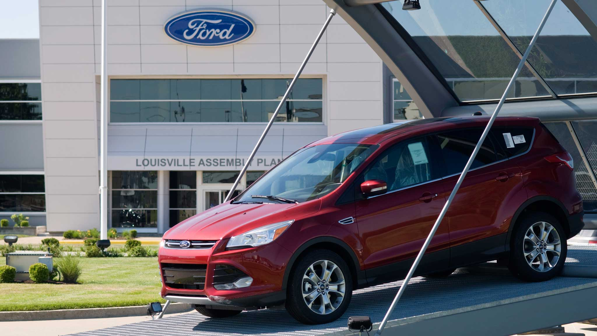 Ford Q1 earnings down 39 per cent | Financial Times