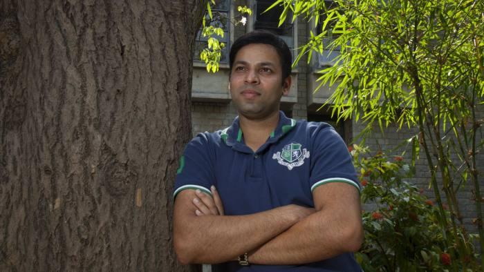 Prakhar Gautam, MBA student at Indian Institute of Management Bangalore, in Bangalore, India on Wednesday 4th June 2014. Photograph by Namas Bhojani