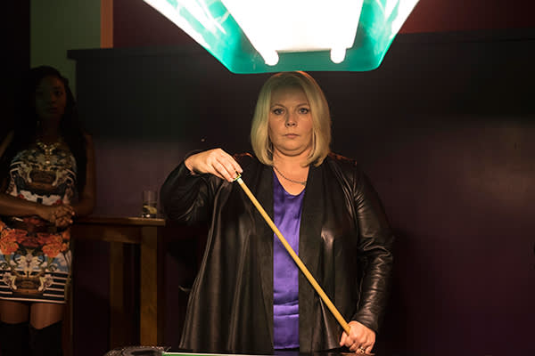 As DI Viv Deering in the crime drama 'No Offence'