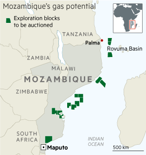 Mozambique prepares to harness vast gas reserves   Financial Times