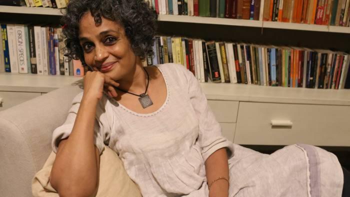 Arundhati Roy portrait from publisher credit Mayank Austen Soofi
