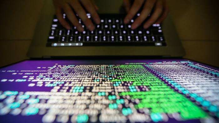 epa06052781 (FILE) - A programer shows a sample of decrypting source code in Taipei, Taiwan, 13 May 2017 (reissued 27 June 2017). According to news reports, companies around the world on 27 June 2017 are reporting they are being hit by a major cyber-attack.  EPA/RITCHIE B. TONGO