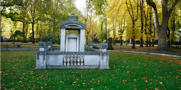 Sir John Soane's 1815 design for a mausoleum for his wife in the Old St Pancras churchyard