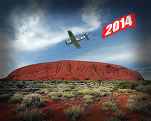 Illustration of a 2014 plane by James Ferguson