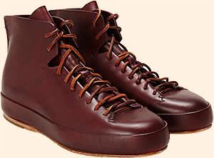 Feit buffalo leather shoes