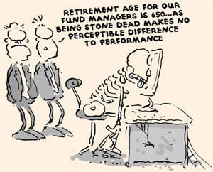 Illustration on retirement age
