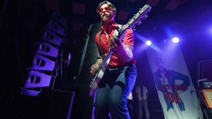 Jesse Hughes of the Eagles of Death Metal