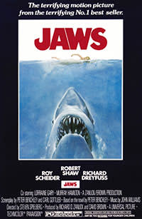 Poster for 'Jaws' (1975)