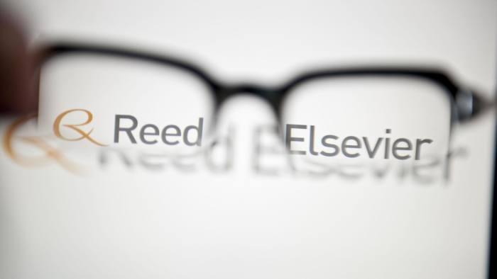 Reed Elsevier...Reed Elsevier logo : credit newscast