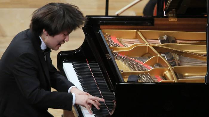 International Chopin Piano Competition winner, Royal Festival Hall