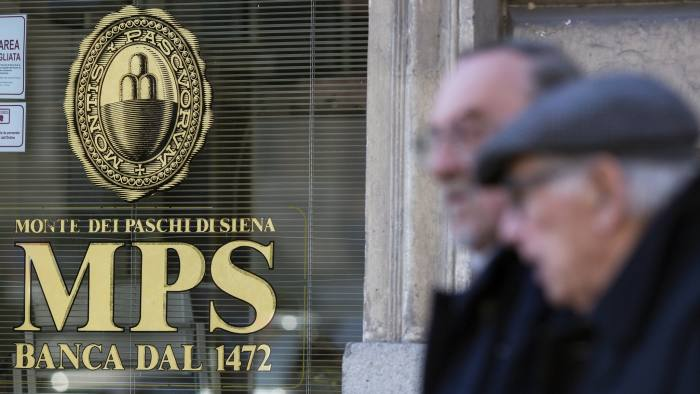 Eu Approval Of Monte Paschi Restructure Paves Way For State Control