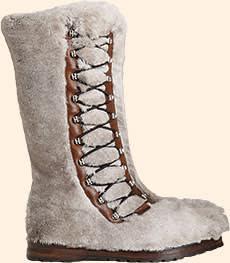 'Himalaya' boots by Bally, £1,350