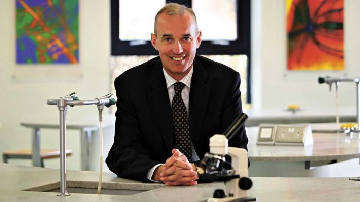 DR Mark Fentyon of Dr Challoner's School in Amersham, Bucks