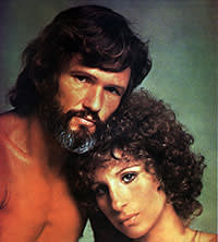 Barbra Streisand and Kris Kristofferson in 'A Star is Born' (1976)