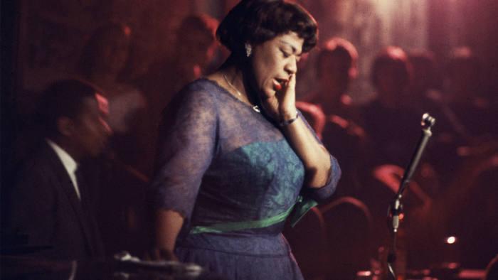 Ella Fitzgerald performing in 1958