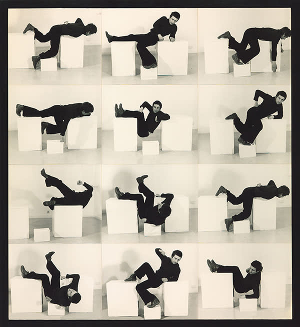 Bruce McLean's 'Pose Work for Plinths 3' (1971)