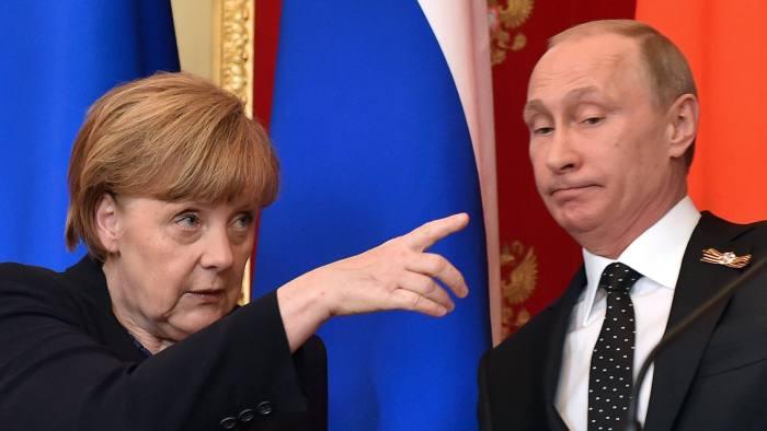 Merkel Invites Putin To Germany For Ukraine Peace Talks Financial Times